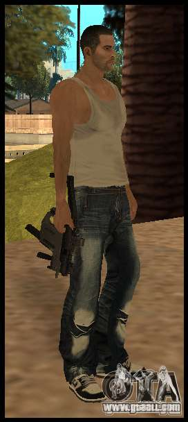 [Point Blank] KRISS SUPER V [Black] for GTA San Andreas second screenshot
