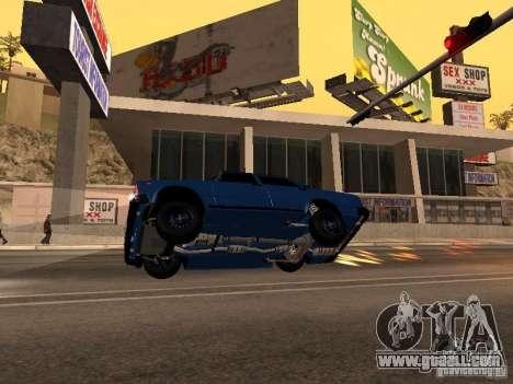 VAZ 2107 Baku for GTA San Andreas right view