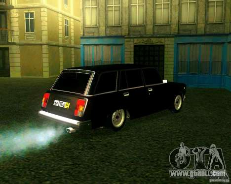 VAZ 21047 for GTA San Andreas back view