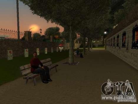 Monument Of Vladislav Galkin for GTA San Andreas third screenshot