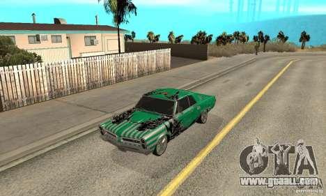 Pontiac GTO 1965 Speed King-NFS Pro Street for GTA San Andreas