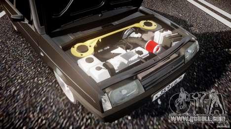 VAZ Lada 2109 for GTA 4 bottom view