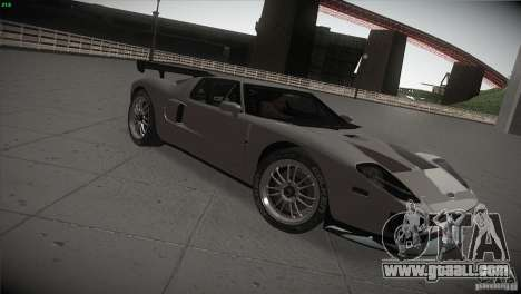 Ford GT for GTA San Andreas right view
