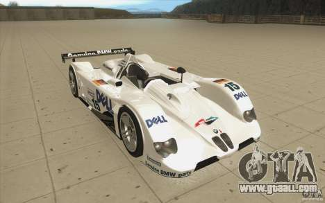 BMW V12 LeMans - Stock for GTA San Andreas back view