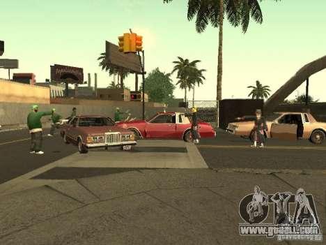 The Akatsuki gang for GTA San Andreas seventh screenshot