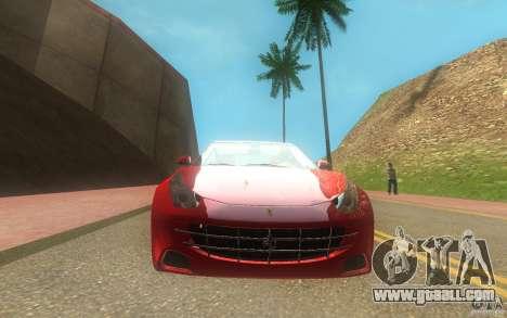 Ferrari FF for GTA San Andreas right view