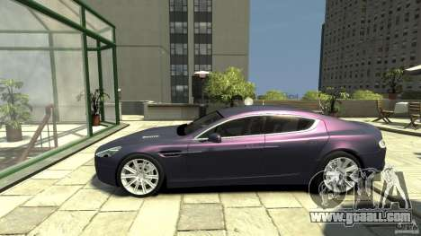 Aston Martin Rapide 2010 for GTA 4 left view