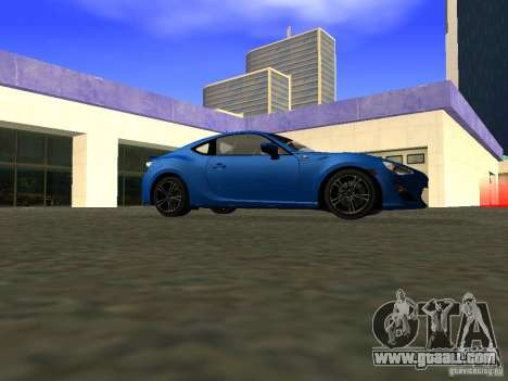 Toyota GT86 Limited for GTA San Andreas back view