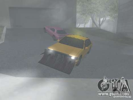 Zombie Taxi for GTA San Andreas left view