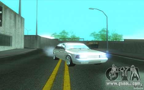 2141 AZLK car Tuning for GTA San Andreas back left view