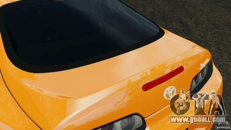 Toyota Supra Tuning for GTA 4 interior