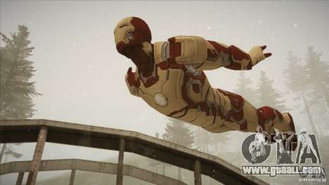 Iron Man Mark 42 for GTA San Andreas third screenshot