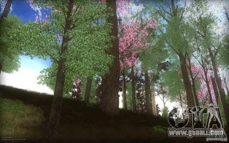 Spring Season for GTA San Andreas second screenshot