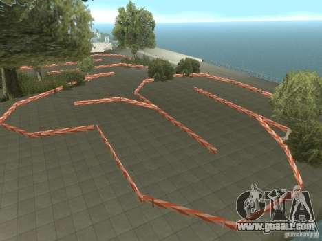 New Drift Track SF for GTA San Andreas second screenshot