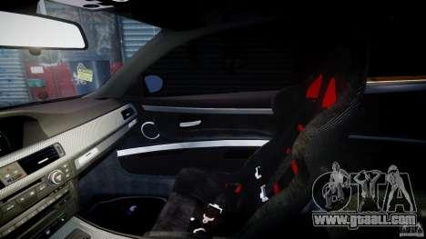 BMW M3 Hamann E92 for GTA 4 inner view