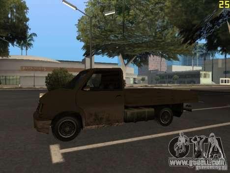 Moonbeam Pickup for GTA San Andreas back view