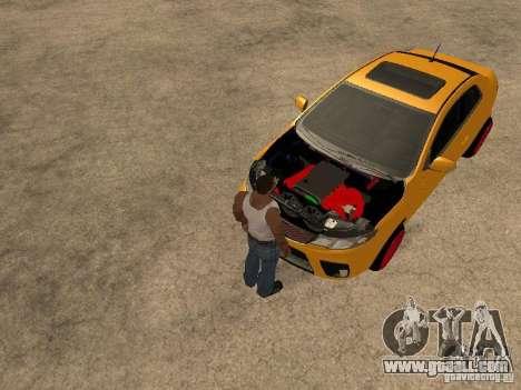 Kia Cerato Coupe JDM for GTA San Andreas right view