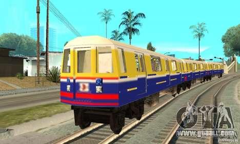 Liberty City Train Italian for GTA San Andreas