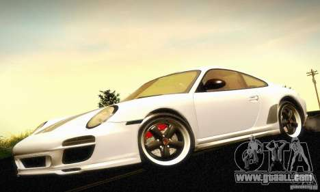 Porsche 911 Sport Classic for GTA San Andreas back view