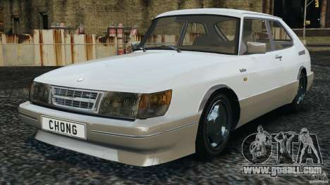 Saab 900 Coupe Turbo for GTA 4