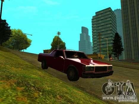 Picador for GTA San Andreas left view