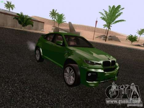 BMW X6 LT for GTA San Andreas right view