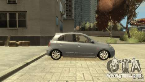 Nissan Micra for GTA 4 right view