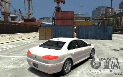 Peugeot 607 Sedan 2007 for GTA 4 right view
