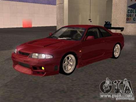 Nissan Skyline GT-R BCNR 33 for GTA San Andreas