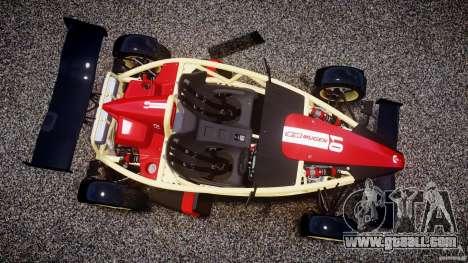 Ariel Atom 3 V8 2012 Custom Mugen for GTA 4 back view