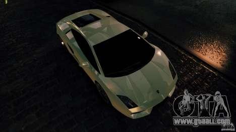 Lamborghini Gallardo Hamann for GTA 4 inner view