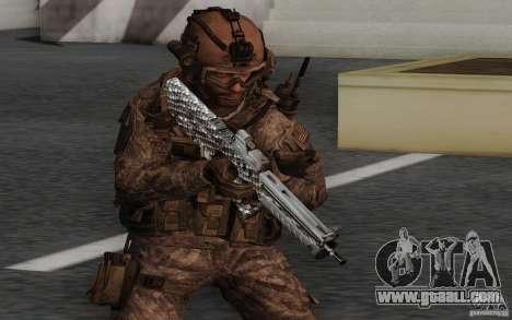 Tavor Tar-21 Carbon for GTA San Andreas