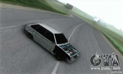 Vaz 2109 Hobo for GTA San Andreas left view