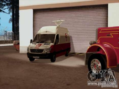 Mercedes-Benz Sprinter 5 Channel for GTA San Andreas side view