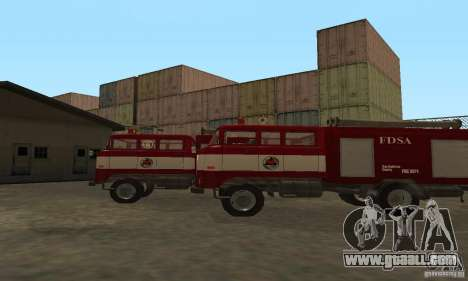 IFA Fire for GTA San Andreas back left view