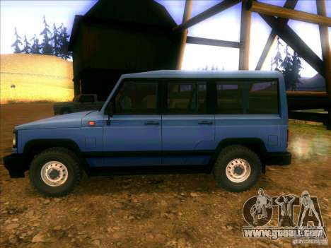 UAZ 3170 for GTA San Andreas left view