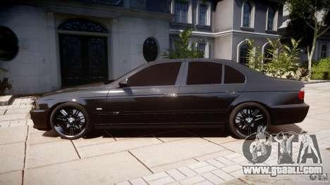 BMW M5 E39 Stock 2003 v3.0 for GTA 4 left view