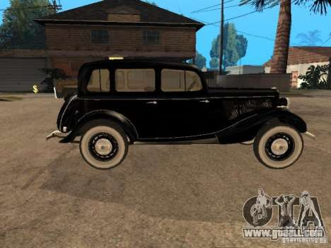 Gaz M1 for GTA San Andreas right view