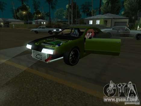 Elegy Green Line for GTA San Andreas