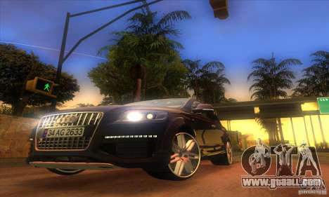 ENB Graphics by KINOman for GTA San Andreas third screenshot