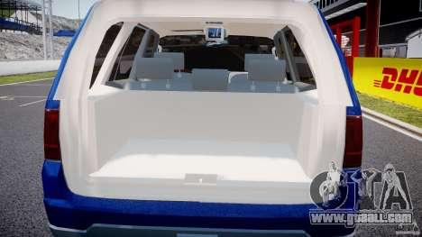 Lincoln Navigator 2004 for GTA 4 bottom view