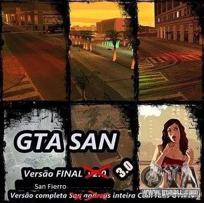 Todas Ruas v3.0 (San Fierro) for GTA San Andreas