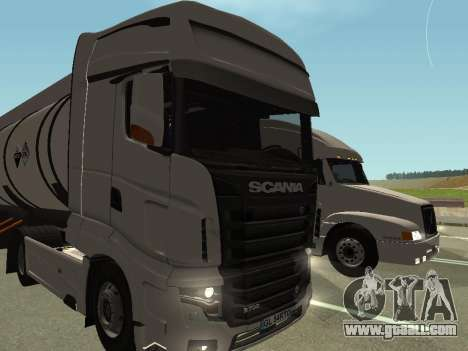 Scania R700 Euro 6 for GTA San Andreas back view