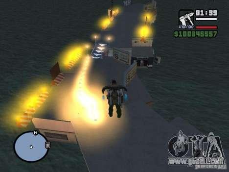Night moto track for GTA San Andreas sixth screenshot