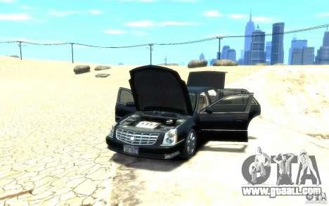 Cadillac DTS v 2.0 for GTA 4 back view