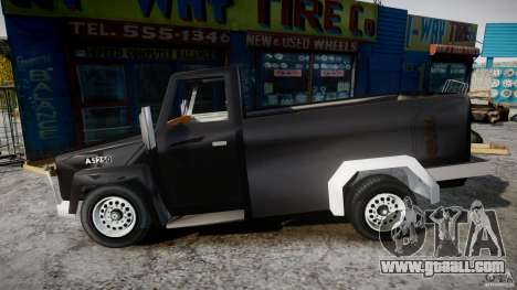 Desoto Ad250 4x4 for GTA 4 left view