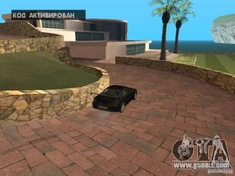 Island mansion for GTA San Andreas fifth screenshot