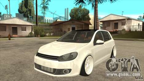 Volkswagen Golf VI 2010 Stance Nation for GTA San Andreas