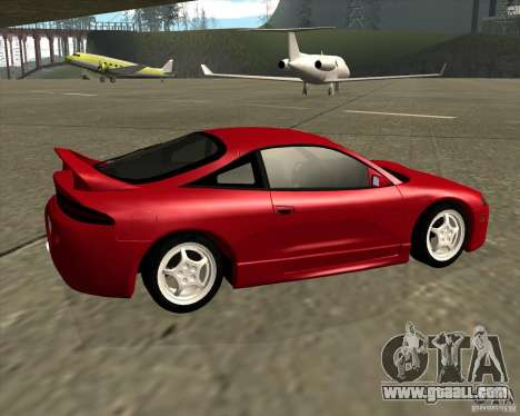 Mitsubishi Eclipse GS-T for GTA San Andreas back left view