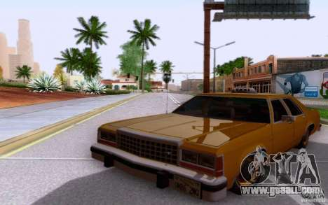 Ford Crown  Victoria LTD 1985 taxi for GTA San Andreas